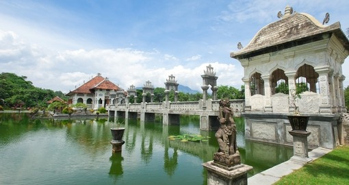 Architectural wonder at the Karangasem Water Temple