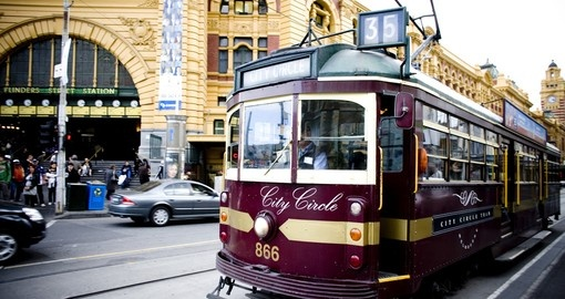 Ride a Tram in Melbourne