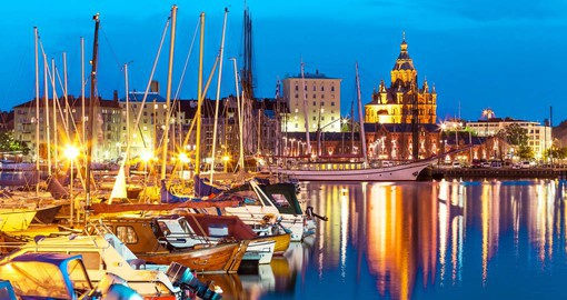 Helsinki, with it's Uspenski Cathedral in the old town is the staring point for your Europe vacation