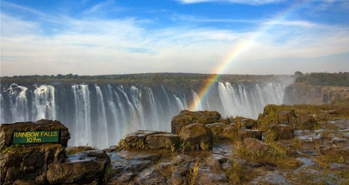 Victoria Falls was described by the Kololo tribe living in the area in the 1800's as 'Mosi-oa-Tunya' – 'The Smoke that Thunders'