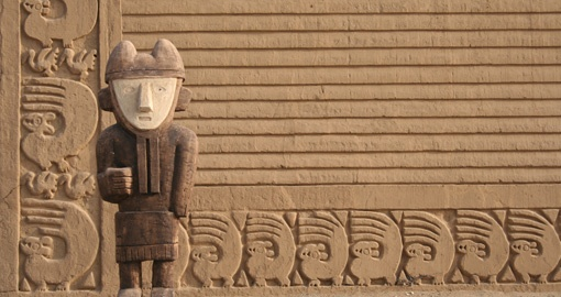 Visit the ancient ruins of Chan Chan on your Peru Tour
