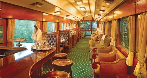 Experience all the amazing amenities of the Rovos Train during your next South Africa tours.