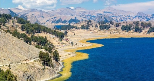 See the stunning landscape of Lake Titicaca bolivia tour