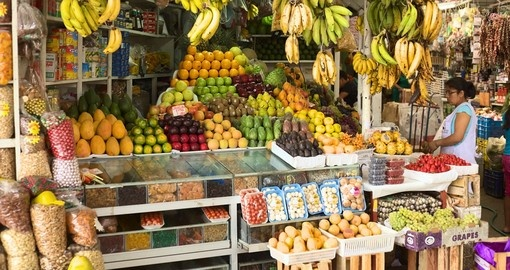 Visit a local market during your Peru tour.