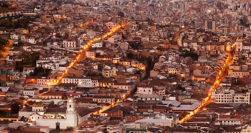 Quito is a great photo opportunity on your Ecuador vacation