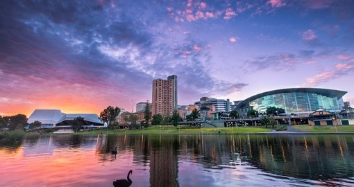 Your Trip to Australia begins in beautiful Adelaide