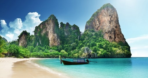 The clear waters of Krabi