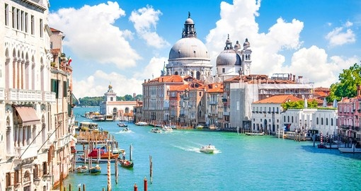 Canal Grande and the Basilica of Venice