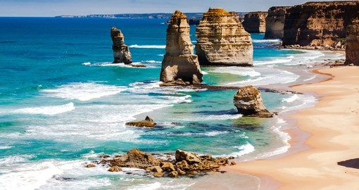 Explore Twelve Apostles by Great Ocean Road during your next Australia tours.