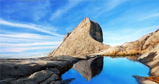 experience breath taking Mount Kinabalu on your Malaysia Vacations
