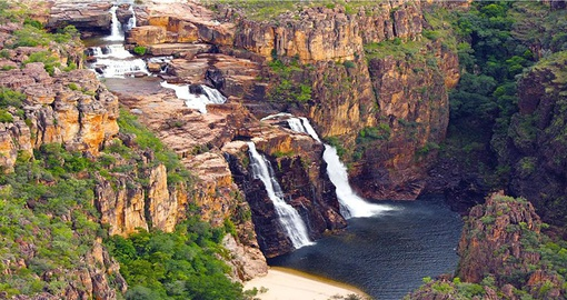 Visit the picturesque Kakadu Falls in the Kakadu National Park during your Australia Vacations.