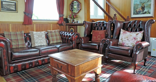 The Saloon on the Scottish Highlander.