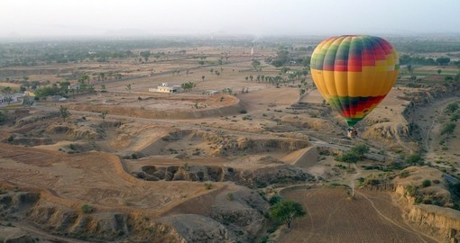 Take an incredible hot air balloon ride in Jaipur