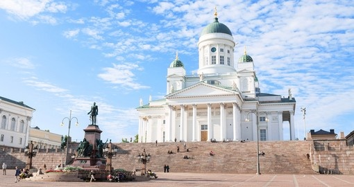 Explore Helsinki Cathedral on your Finland Vacation
