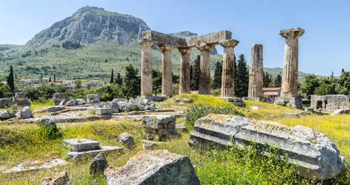 Apollo Temples Ruins, Corinth