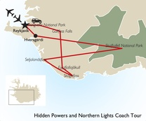 Hidden Powers and Northern Lights Coach Tour