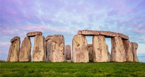 Attributed to The Druids, Stonehenge is one of Britain's greatest icons