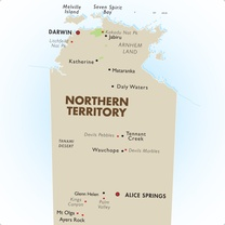 North Territory Map