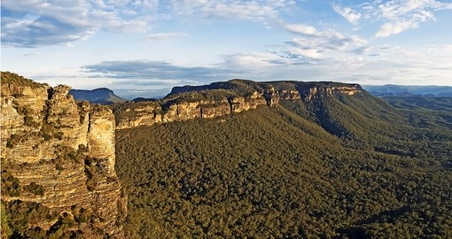The Greater Blue Mountains Area is a UNESCO World Heritage Area