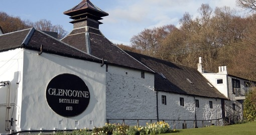 The Glengoyne Distillery at Dumgoyne just north of Glasgow, Scotland