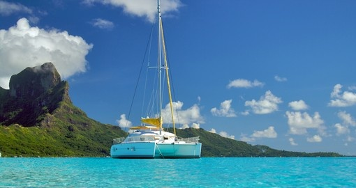 Experience adventures ride on your private catamaran on your next Bora Bora vacations.