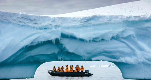 Surreal Surroundings of Antarctica