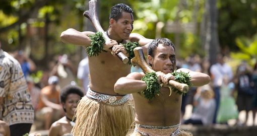 Meet some Fijian Warriors and listen to the locals stories during your next Fiji vacations.