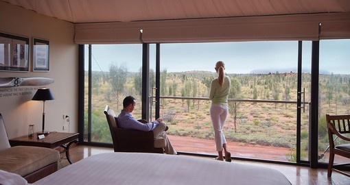 Amazing Ayers Rock Views from your Stay of Distinction