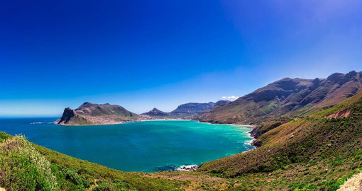 Picturesque Hout Bay near Cape Town