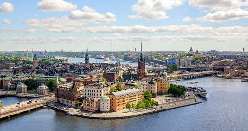 Stockholm's Old Town is built of the compact island of Gamla Stan