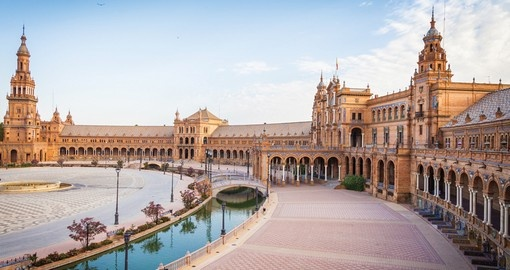 Visit beautiful city Seville during your next Spain holiday.