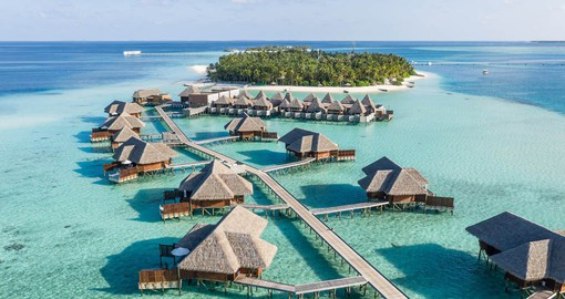 Twice voted 'Best Hotel in the World' Conrad Maldives Rangali Island is the perfect escape in paradise