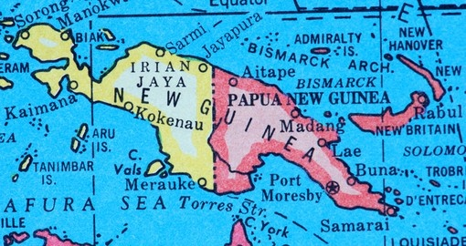 Papua new guinea geography maps papua new guinea tours goway sciox Image collections