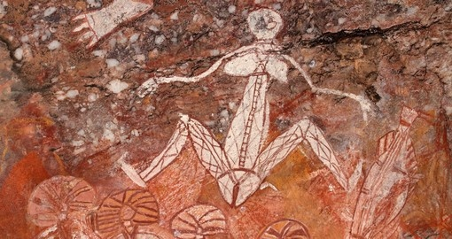 You will be able to enjoy Aboriginal rock art during your next Australia tours.