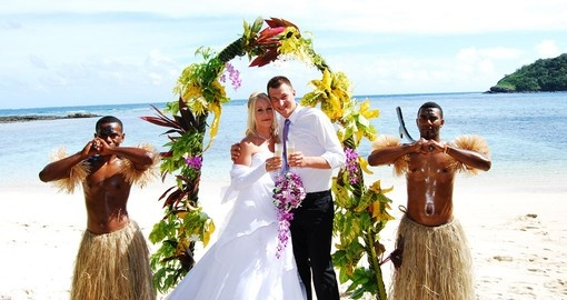 You might even experience traditional beach wedding included in your Fiji Vacation Packages.