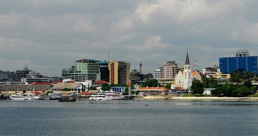 The city of Dar es Salaam is one the starting points you can begin your Tanzania safari.