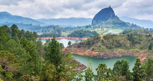 The Rock near the town of Guatape