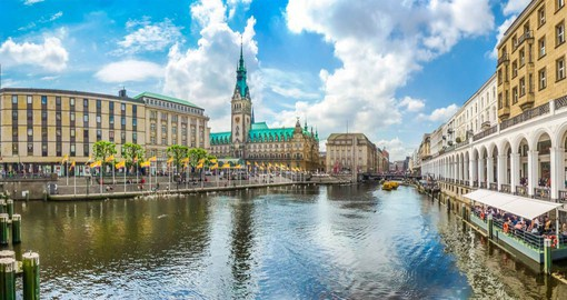 Situated on the river Elbe, Hamburg is home to Europe's second-largest port