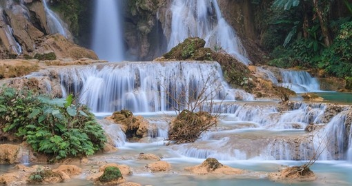 Kuang Si Waterfall, Lung Prabang