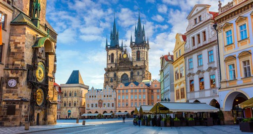 Explore the old city of Prague on your Czech Republic Tour