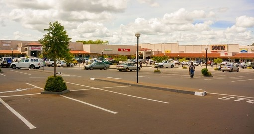 A view of the Lilongwe city mall and a chance to do some shopping on Lilongwe tours.