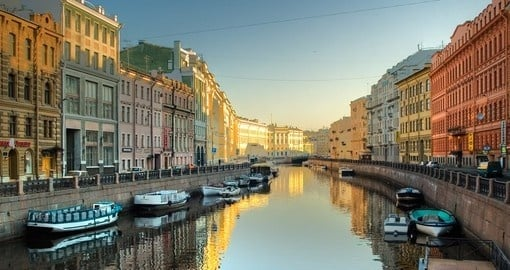 Visit St Petersburg during your Russia trip.