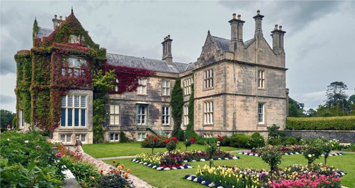 Completed in 1843, Muckross House hosted Queen Victoria on her 1861 tour of Ireland