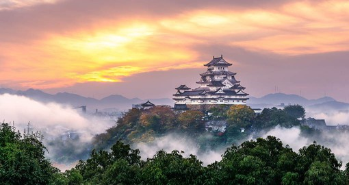 "Know as the ""White Heron"", Himeji Castle is considered the most spectacular in Japan"