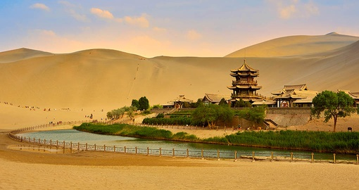 Visit a perfect oasis on your China tour