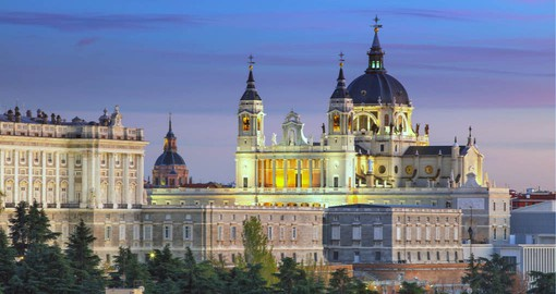 Madrid, Spain's capital and largest city boasts elegant architecture and a zest for life