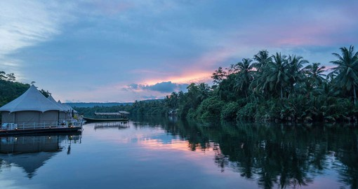4 Rivers Floating Lodge is a great place to experience the beauty and splendour of the Cambodian Rainforest
