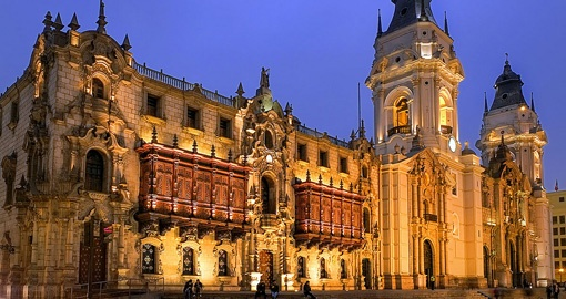 Archbishop's palace, Lima