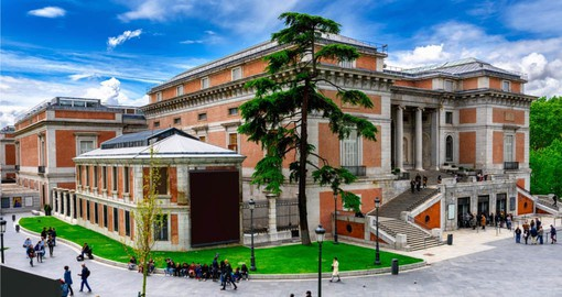 Widely considered to house one of the world's finest collections of art, The Prado was established in 1819