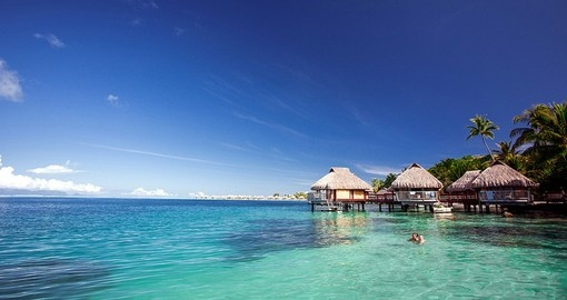 Experience magical view of sunset and sunrise if you stay in Overwater Bungalow during your next Bora Bora vacations.